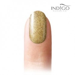Glitter Light Gold Gel Polish, 7ml