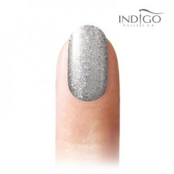 Glitter Silver Cha Cha Gel Polish, 5ml