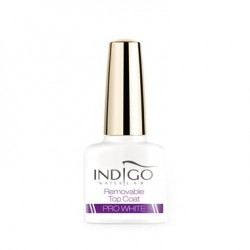 Removable Top Coat Pro White, 5ml