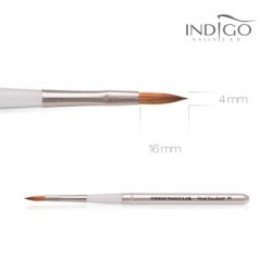 Indigo Brush Oval Excellent No.6