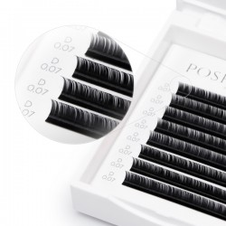 SILK Volume Lashes, Black D 0.07