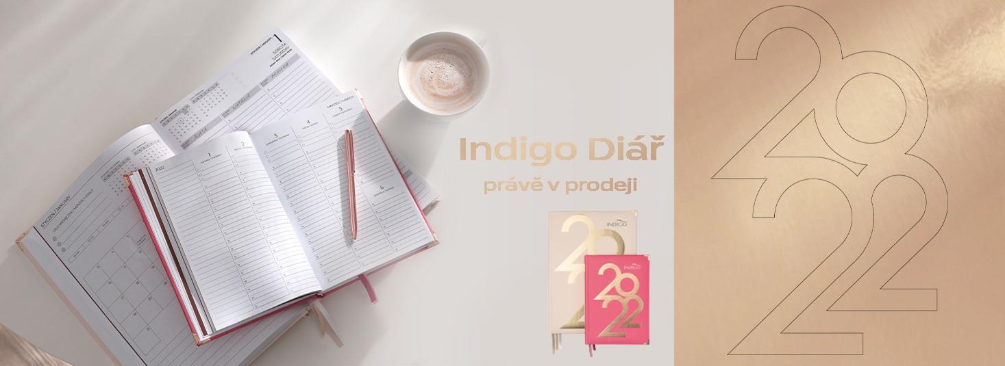 Diáře Indigo 2022
